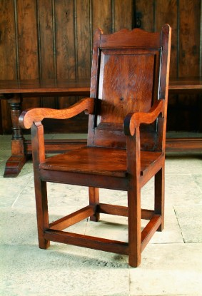 16th Century reproduction oak chairs