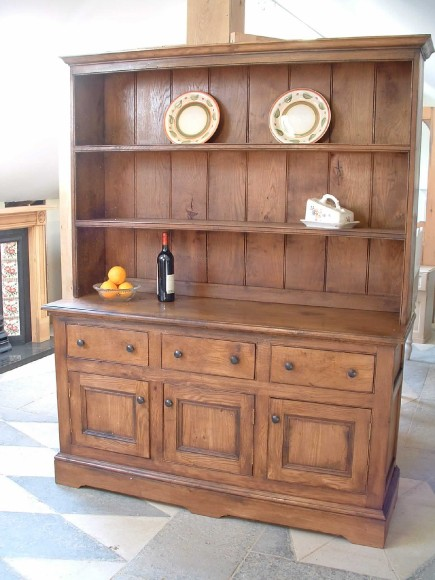 Reproduction Oak Dresser