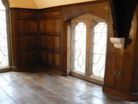 16th 17th Century Reproduction Plank And Muntin Panelling